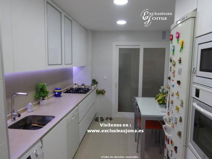 reforma de cocina integral en sector en tres cantos azulejos de la firma saloni