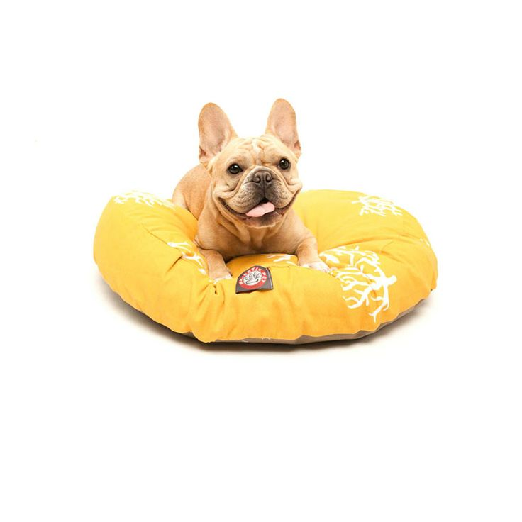 Majestic Pet Yellow Coral Round Pet Bed | Overstock.com Shopping - The Best Prices on MAJ PET Other Pet Beds