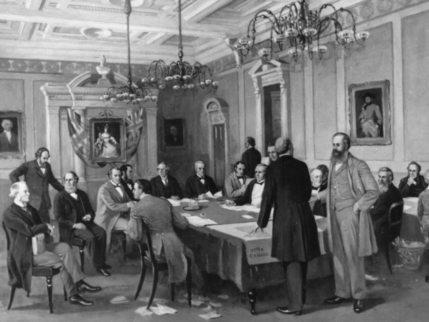 Fathers of Confederation in London