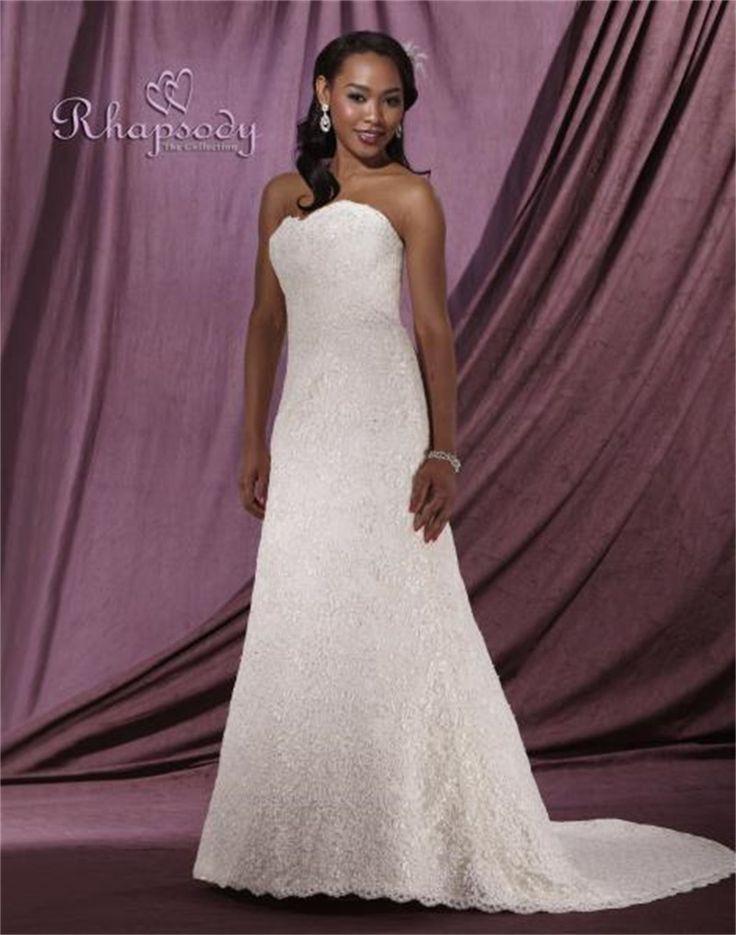 Nice Click to Buy uc uc Fast Shipping Lace Wedding Dress with Train Sweetheart