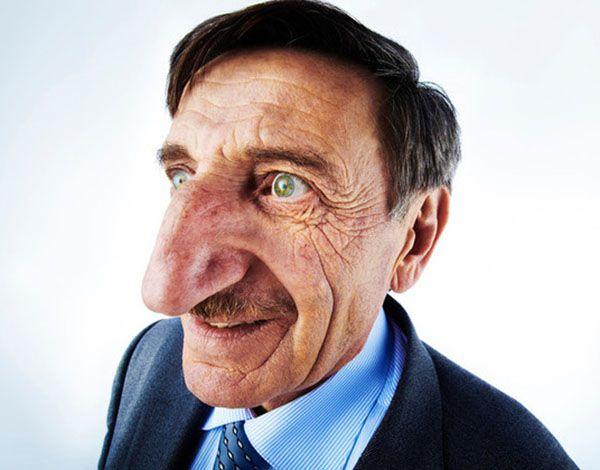 World's Longest Nose The Longest nose on a living person measures 8.8 cm (3.46 in) long, belongs to Mehmet Ozyurek (Turkey). #LongestNose