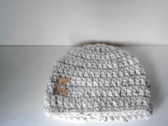 Crochet baby boy chunky hat 3-6 months by crochetfifi on Etsy