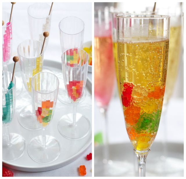 Making one or more of these yummy mocktails for our family New Year's celebration this year!