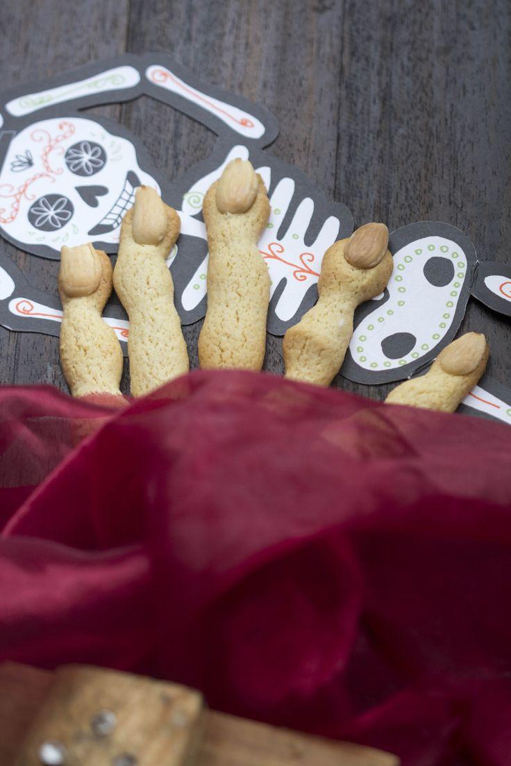 Como preparar galletas de dedos de bruja con Thermomix