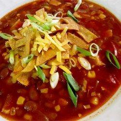 Healthier Slow-Cooker Chicken Tortilla Soup - Allrecipes.com