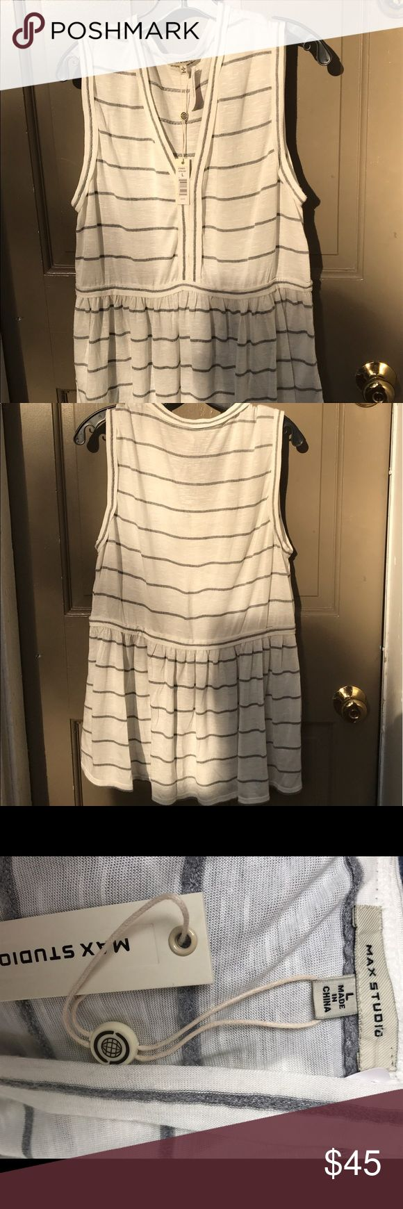 Brand new summer dress. Lightweight and flowy Super fun and easy summer dressing Max Studio. brand New! It's lightweight and great for casual summer BBQs or everyday wearing! Max Studio Dresses Maxi