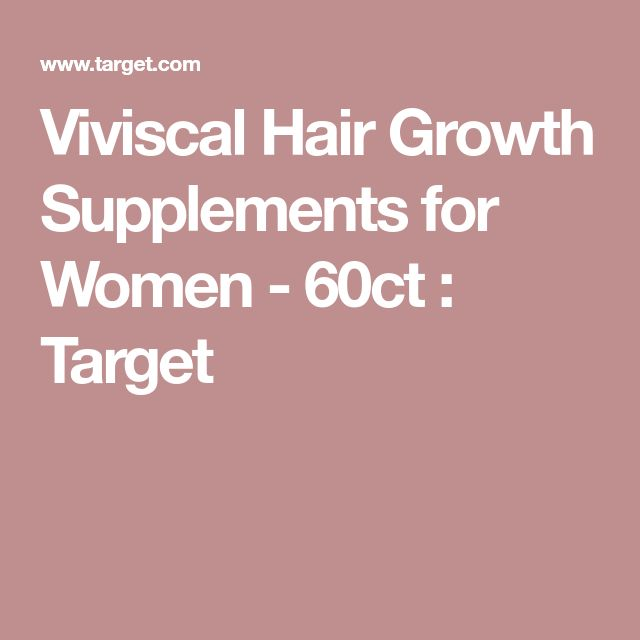 Viviscal Hair Growth Supplements for Women - 60ct : Target