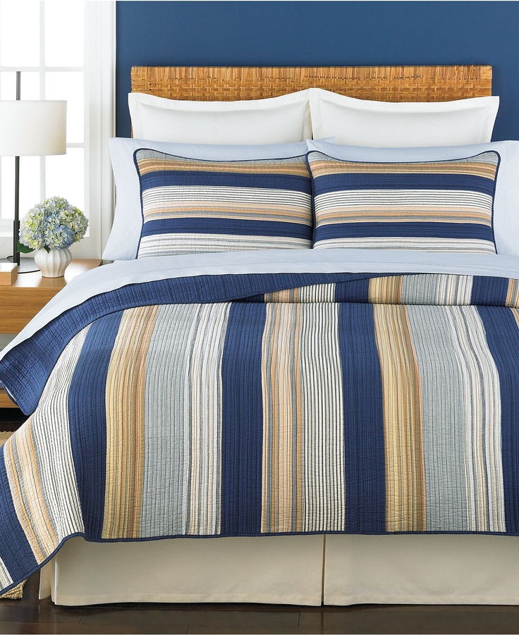 Martha Stewart Collection Bedding Garrison King Quilt Quilts Amp Bedspreads Bed Amp Bath Macy