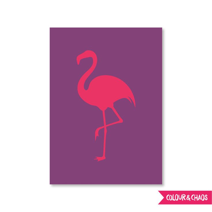 Summer Lovin' A6 Greeting Card (Pink/Flamingo)