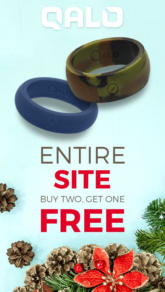 This Monday only buy any 2 rings and get another completely FREE. Don't miss out on this chance to shop the MOST POPULAR functional wedding ring.