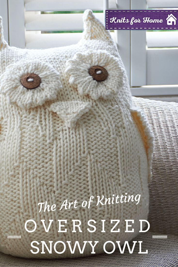 Best 25 knitted owl ideas on pinterest knitted owl doll owl this beautiful owl has been such a hit with our readers owl pillow patternowl knitting bankloansurffo Image collections