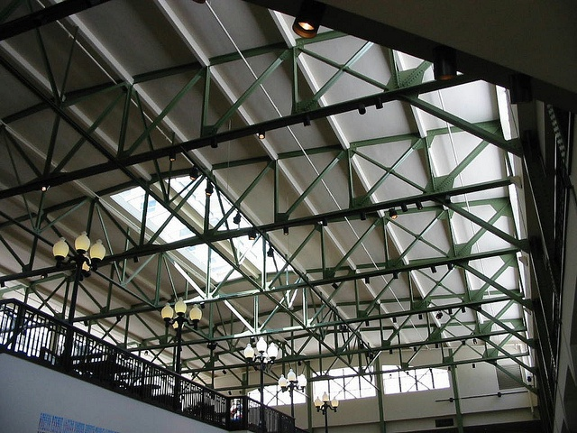 original steel trusses