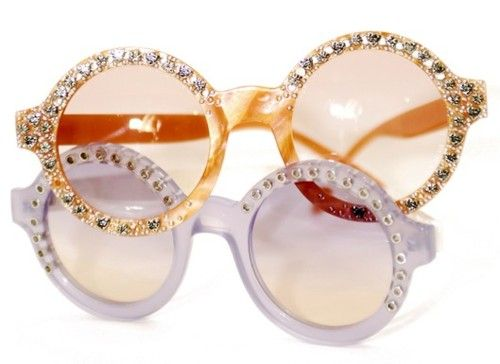 darklamb:    Talk about stars in ones eyes! These Missoni sunnies are everything. (image via WWD)