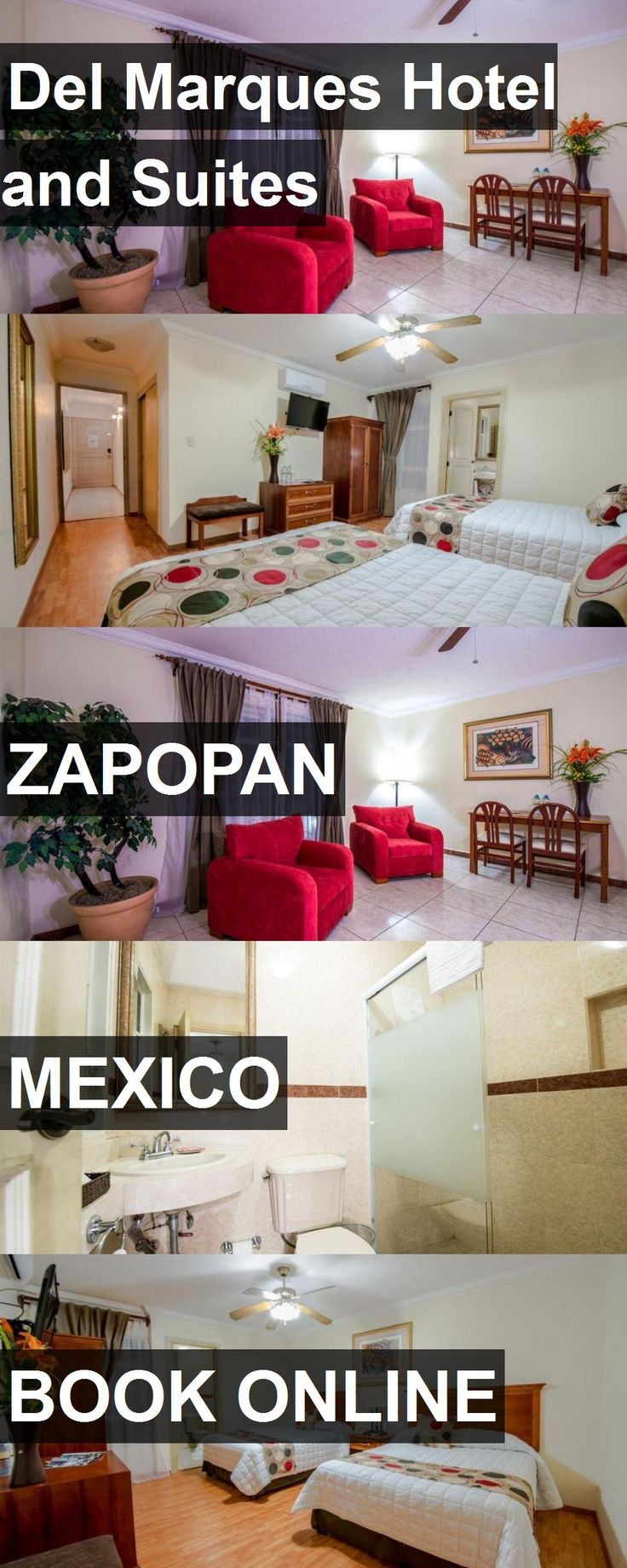 Del Marques Hotel and Suites in Zapopan, Mexico. For more information, photos, reviews and best prices please follow the link. #Mexico #Zapopan #travel #vacation #hotel