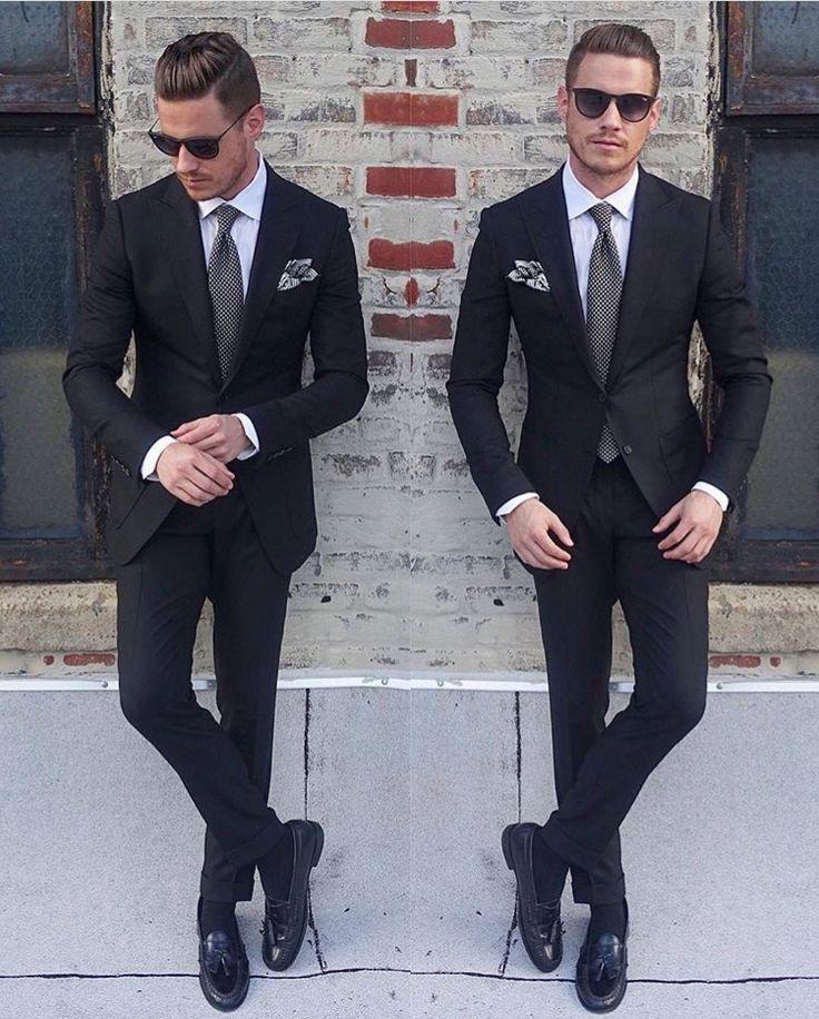 17 best images about mens black suits on pinterest