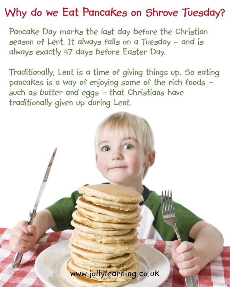 Shrove Tuesday & Lent