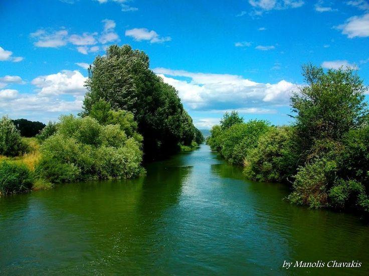 Βοιωτικός Κηφισός κοντά στον Αλίαρτο-Kifisos river close to Aliartos