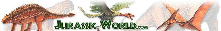 Dinosaure sur Jurassic World, la Terre au temps des dinosaures.