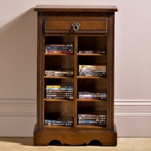 Dvd Storage Cabinet Cherry