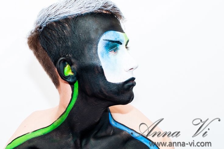 Creative makeup blackman Ph: Dmitriy Melnichenko Md: Dmitriy Melnichenko MuaH: Anna Vi