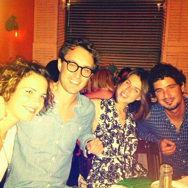 Giacomo with friends in New York wearing his OLIVIERO TOSCANI Black Acetate Glasses. Shop it at www.finaest.com | #newyork #olivierotoscani #glasses #eyewear #occhiali #lunettes #style