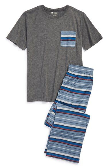 Boy's Tucker + Tate Stripe Two-Piece Pajamas
