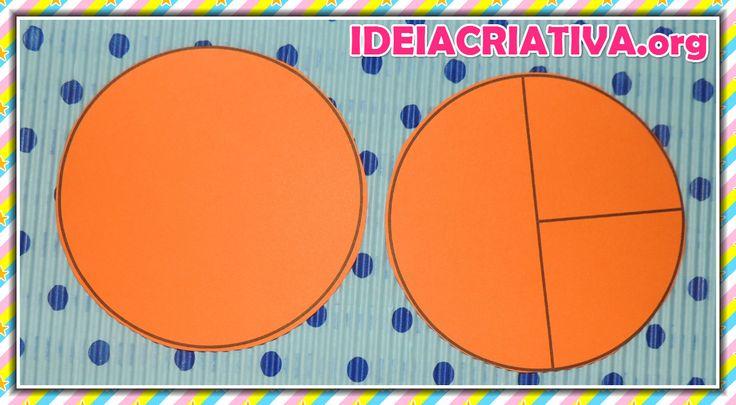 Peixinho feito com círculos de papel