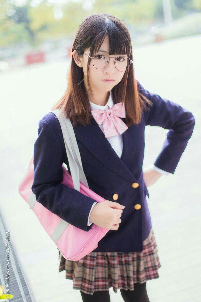 Japanese School Girl Teacher