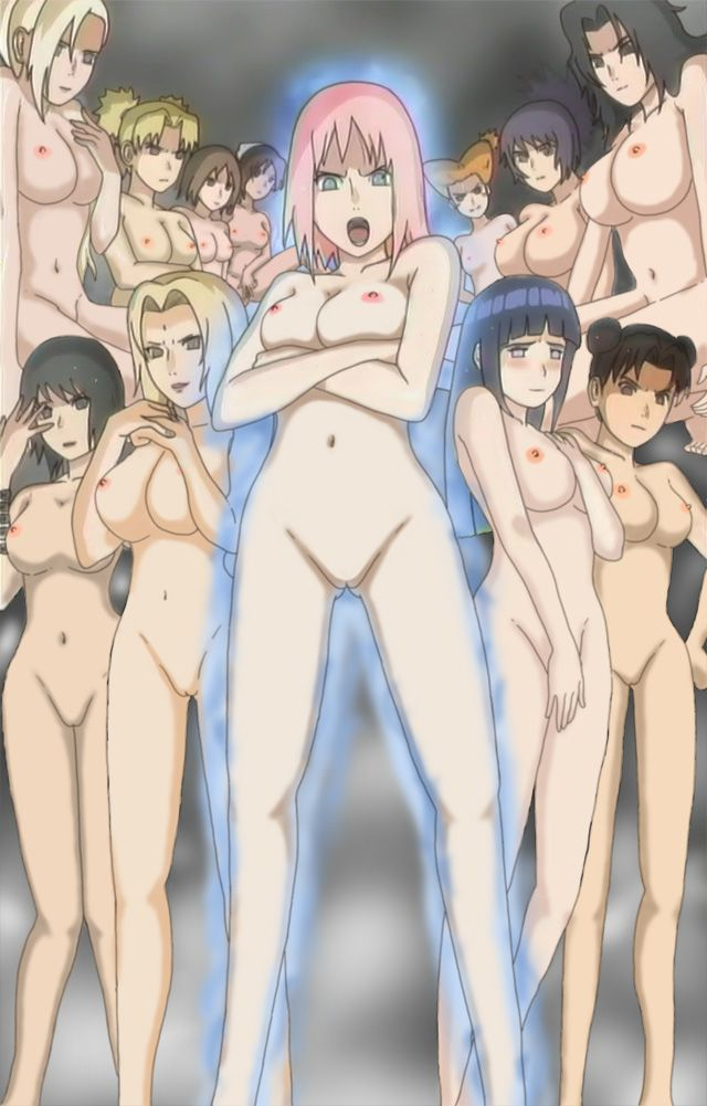 black naruto girls naked