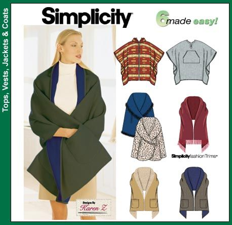 285 best Fleece Patterns images on Pinterest | Sewing ideas, Sewing ...
