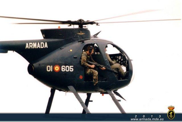 Helicópteros H-500 de la 6ª Escuadrilla - Aeronaves - Galería Fotográfica - Armada Española - Ministerio de Defensa - Gobierno de España