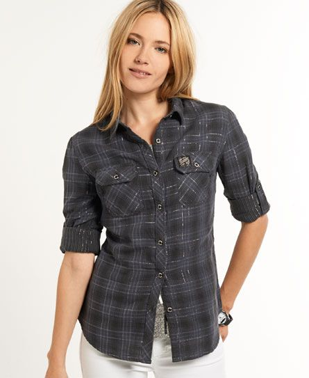Superdry Lurex Calamity Shirt