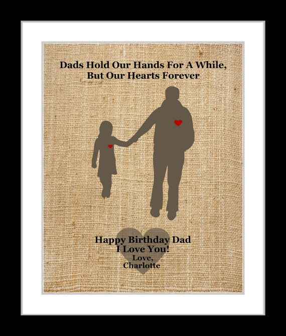 Gifts For Dad From Daughter Part - 46: Gifts For Dad Daddy From Daughter: Custom By Printsinspired