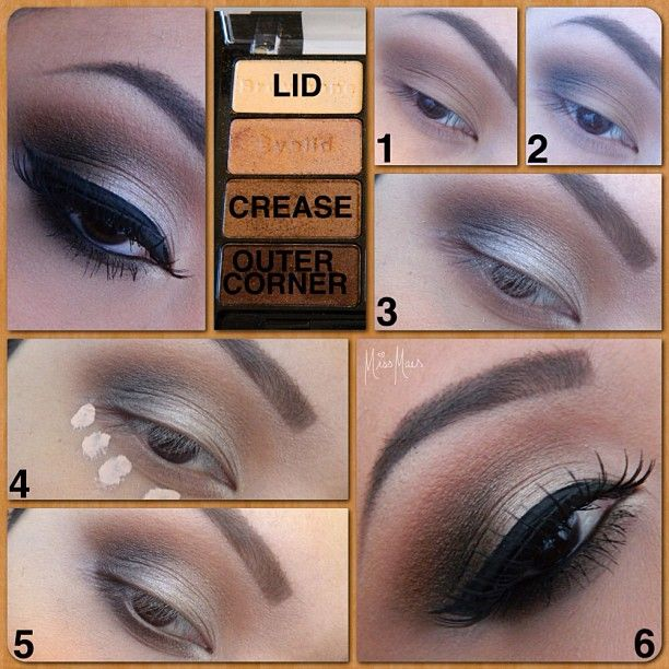 """Thank you for being so patient with my pictorials!  This is an easy look, using only 3 colors from  Wet N Wild's """"Comfort Zone"""" palette.  Which are labeled on photo. Read steps below! - @Miss Mae- #webstagram"""