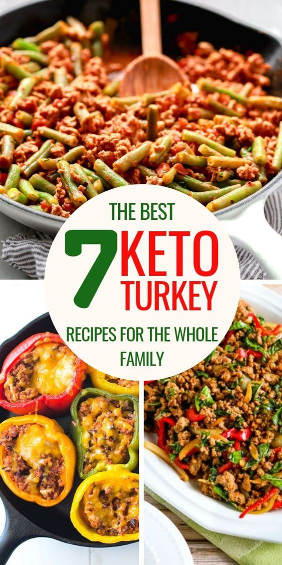 7 Keto Ground Turkey Recipes for The Whole Family