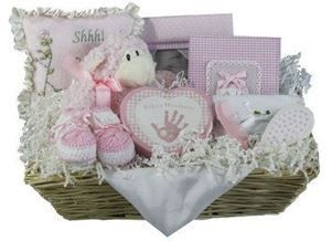 Elegant Treasures Baby Gift Basket for Neutral Baby