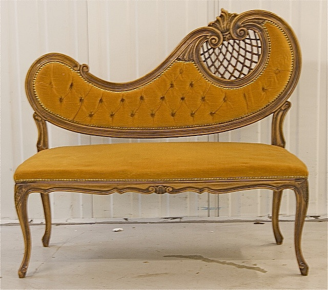375 best antique new chaise lounges images on pinterest for Art nouveau chaise longue