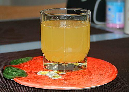 Апельсиново-имбирный компот.