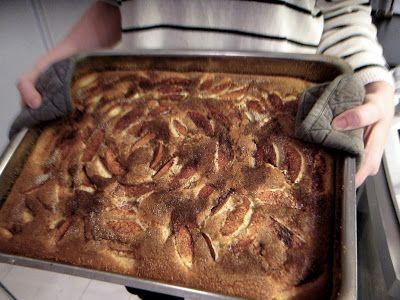 Äppelkaka recept