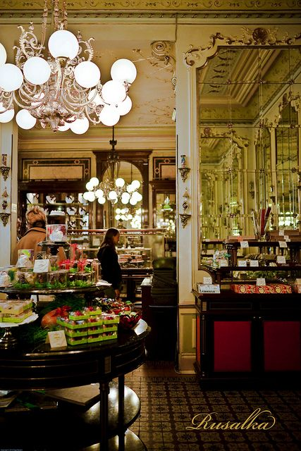 Demel's Cafe, Vienna. The most amazing cafe/bakery I have ever been in. EVER
