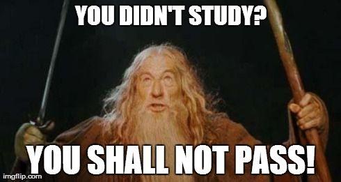 gandalf teacher meme