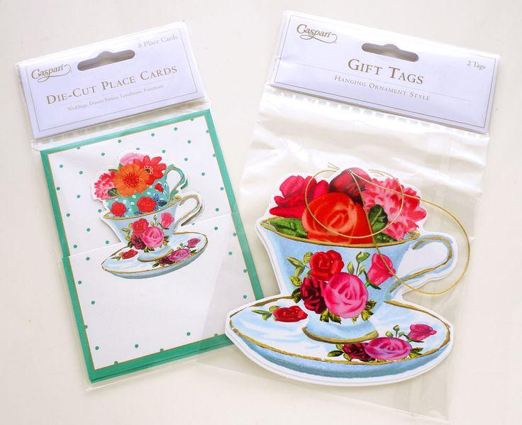 Caspari Place Cards & Gift Tags | Illustration by masaki ryo