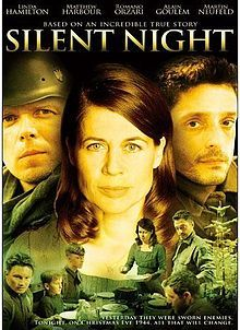 Silent Night (2002 film) - a Hallmark tv movie. My 2 boys & I watched it one Christmas by accident & loved it. It's become our favorite movie to watch or discuss together hehe!