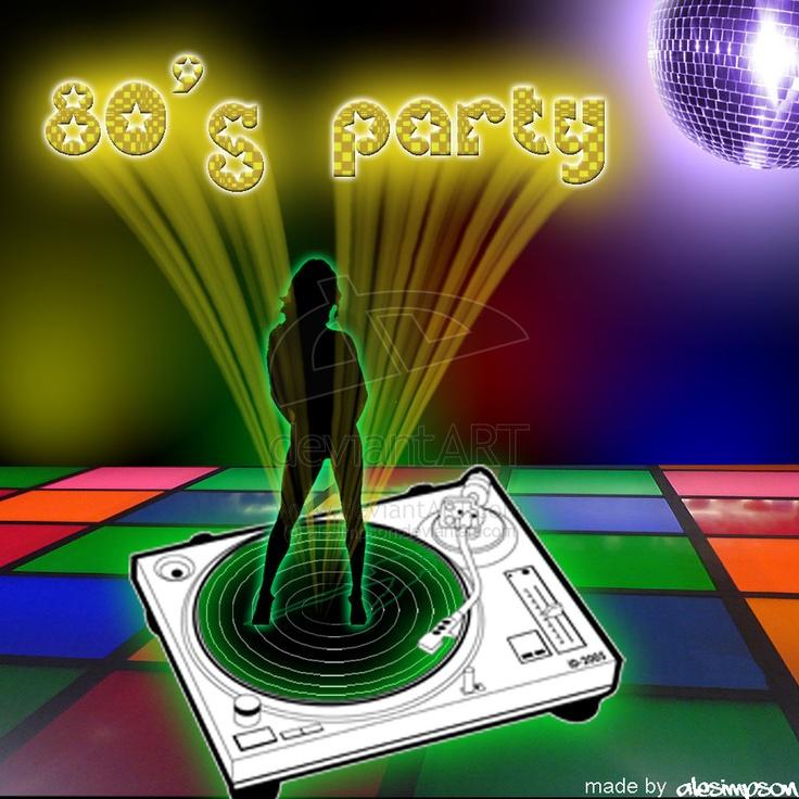 80'S Party by alesimpson.deviantart.com