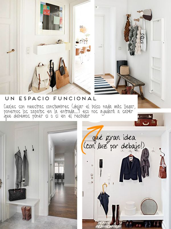 M s de 25 ideas incre bles sobre recibidores peque os en - Ideas para decorar entradas de casas ...