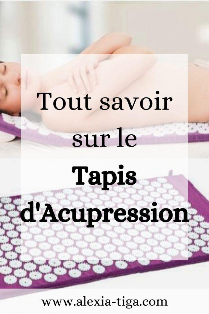 Le Tapis D Acupression En 2020 Tapis Acupression Acupression Mode De Vie Sain