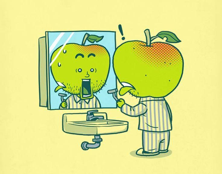 As ilustrações bem humoradas de Ben ChenZupi