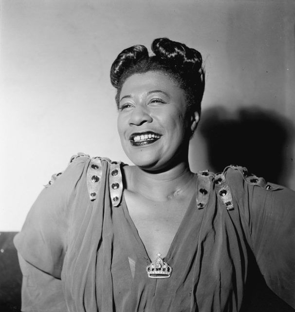 Ella Fitzgerald, November 1946. Photography by William P. Gottlieb.Source