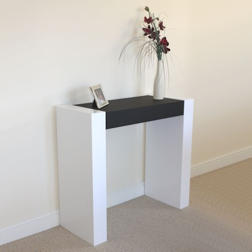 Sledmere 350 Acrylic Console Dressing Table / Desk