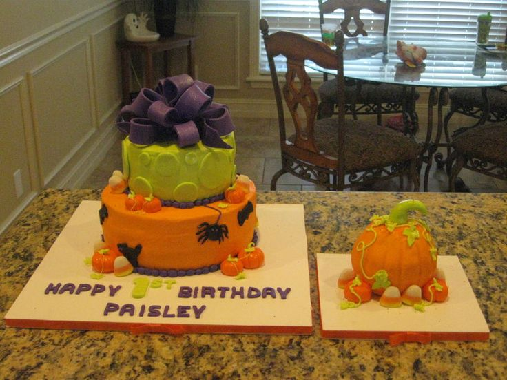 Halloween 1st Birthday — Children's Birthday Cakes